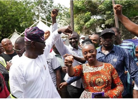 Election: I Am Confident Of Victory – Sanwo-Olu Declares As He Votes In Ikoyi