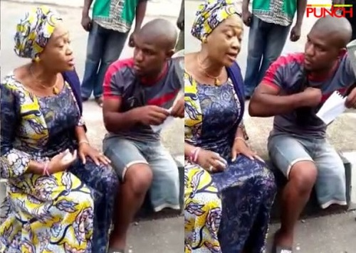 Show Me Your Hand, Get The Money – Tinubu's Wife Banters With Area Boys