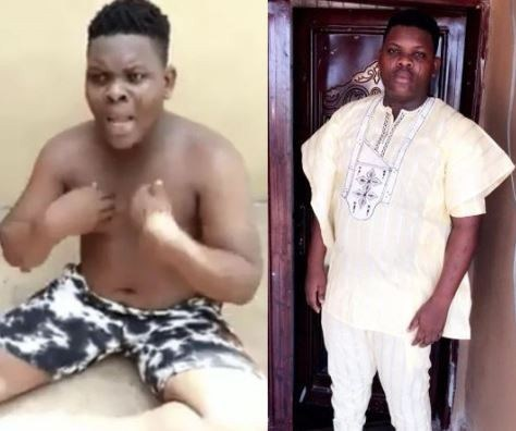 Abeokuta-based DJ Caught With Several Used Sanitary Pads & Pants Few Weeks After Buying New Car (Photos)