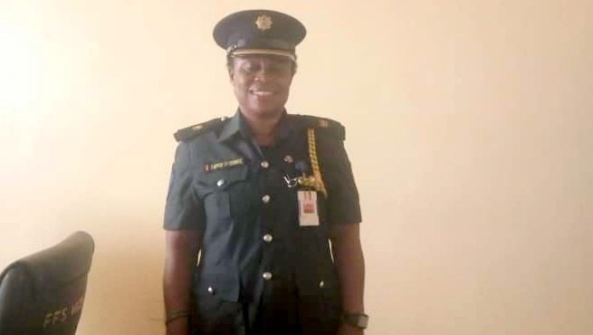 Fearless Nigerian Female Firefighter, Taiwo Oyerinde, Reveals How She Copes With The Fires
