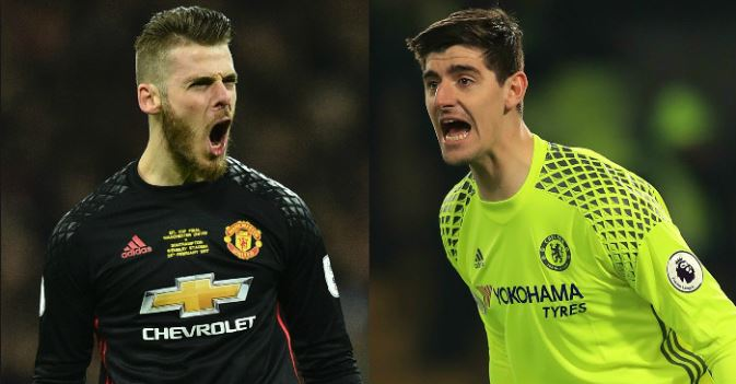 Courtois Snubs De Gea Swap Deal With Man Utd