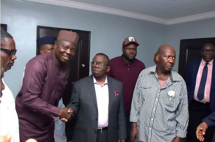 Actor Baba Suwe Meets With Minister Of Health Over His Medical Condition