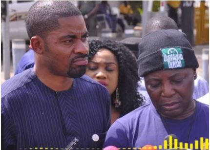 Betrayal: Charly Boy And Deji Adeyanju's Audio Conversation Leaked Online