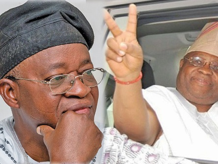 'I'm Still In Charge' – Oyetola Reacts To Adeleke's Election Tribunal Victory