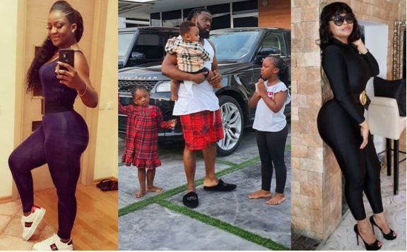 Timaya's Two Babymamas Prove They Have A Good Relationship