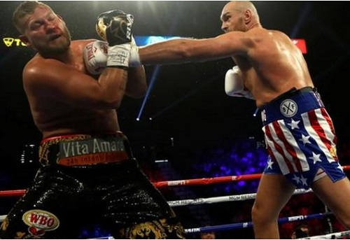 Tyson Fury Knocks Out Tom Schwarz In Second Round Of Heavyweight Fight