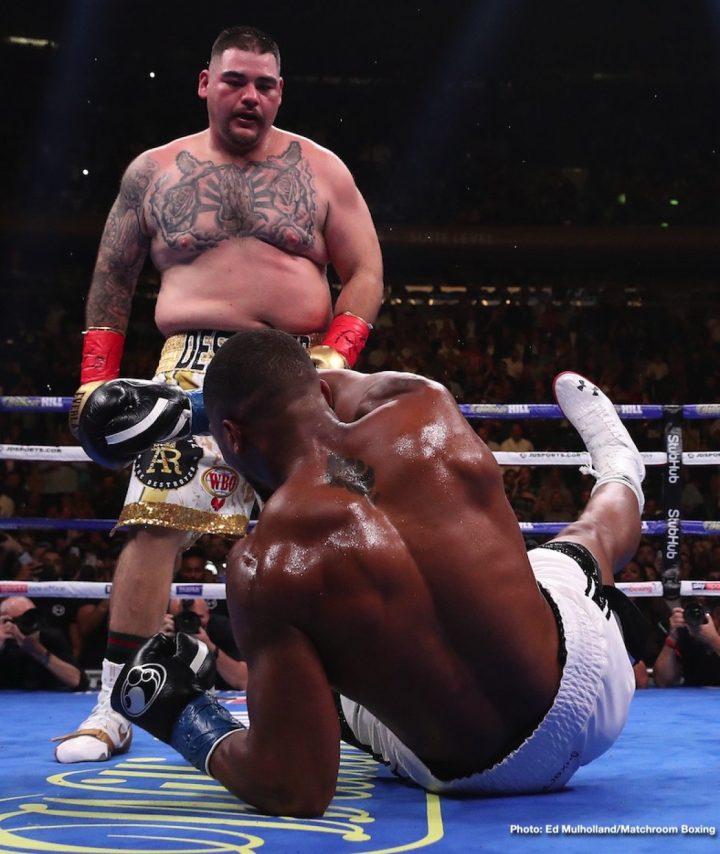 Andy Ruiz Mocks Joshua, Says He's Not A Good Boxer