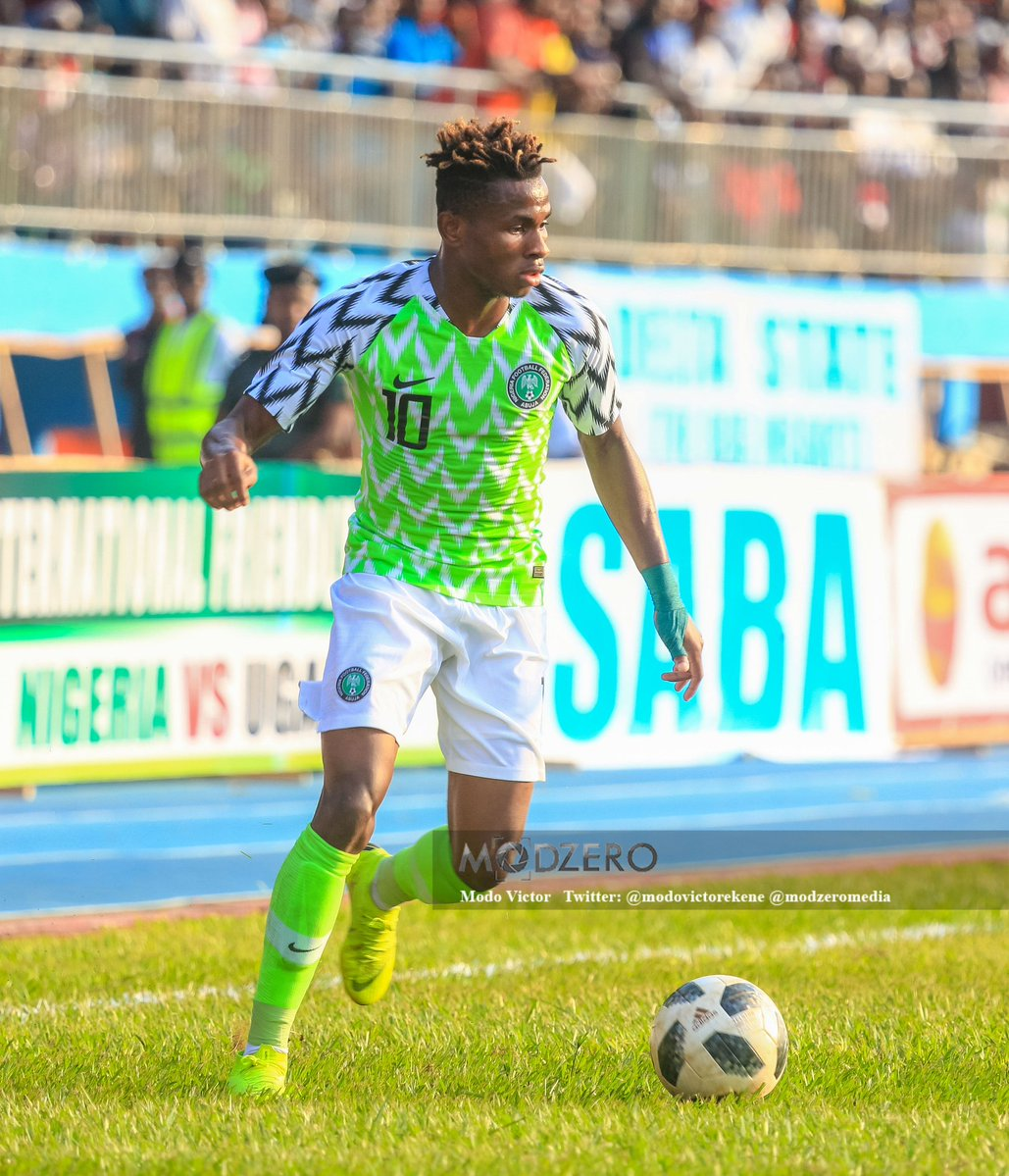 'It's A Dream Come True' – Nigerian Footballer, Chukwueze Speaks On Playing For The Super Eagles