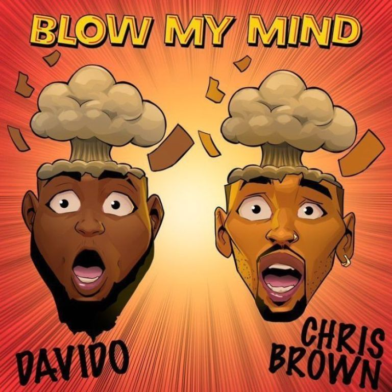 """Chris Brown Announces New Single with Davido Titled """"Blow My Mind"""""""
