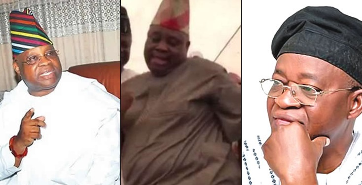 You Will Be Stoned If You Walk The Streets With Me – 'Dancing' Senator, Adeleke Replies Governor Oyetola