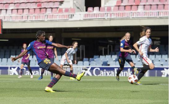 Oshoala Scores Twice As Barcelona Beat Arsenal