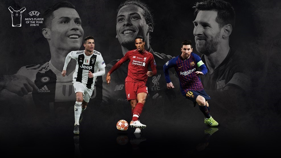 See The Last Three Players Shortlisted For UEFA Player of the Year Award