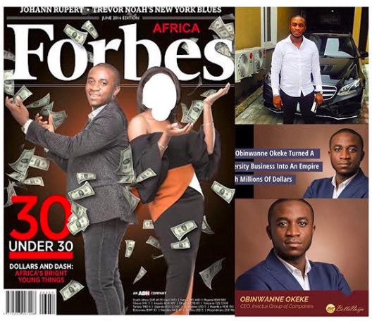 How Forbes-Rated Young Nigerian Billionaire, Obinwanne Okeke Was Exposed And Arrested By FBI For $12 Billion Scam