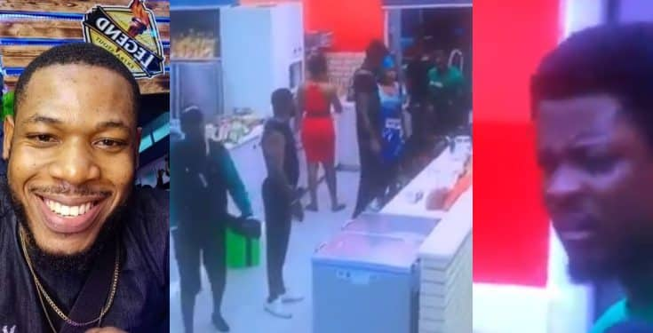 BBNaija: If You Are A Big Man, Why Are You Here, I Don't Care About Your Lineage – Frodd Attacks Seyi (Video)