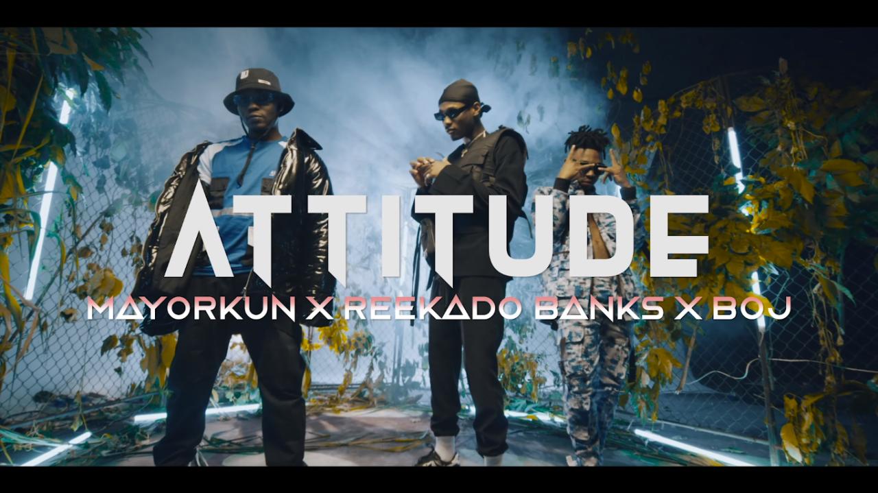 VIDEO: Attitude ft. Mayorkun, Reekado Banks, BOJ – Higher Your Body