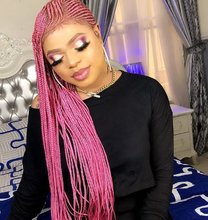 Nigerian Youths stage Anti-Bobrisky protest in Abuja (Video)