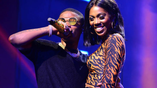 """""""Jay Z And Beyoncé"""" – Fans React After Wizkid Wrapped Tiwa Savage In His Arms In Tanzania 