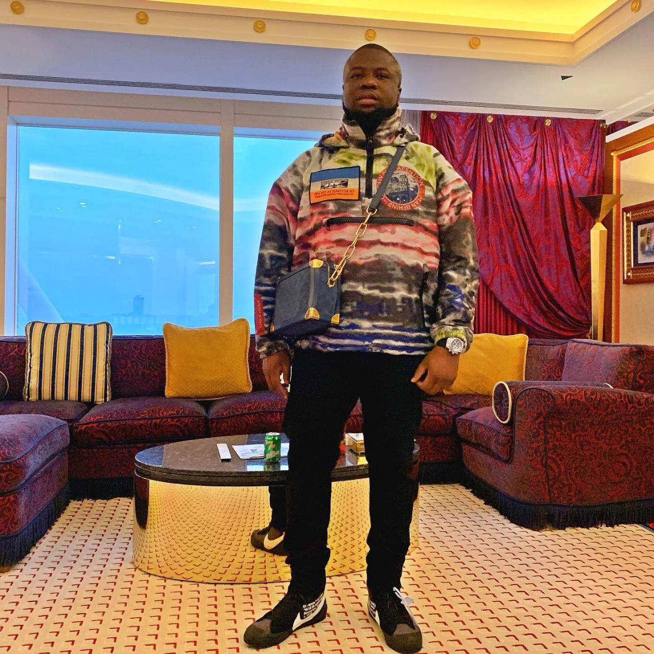 Legit!!! – Hushpuppi shares video of himself enjoying life in a private jet.