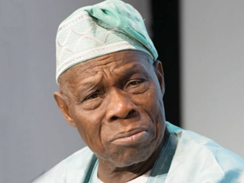 Ex-President Olusegun Obasanjo's House On Fire