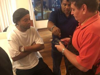 Ronaldinho Detained For Entering Paraguay With A Fake Passport (Photos)