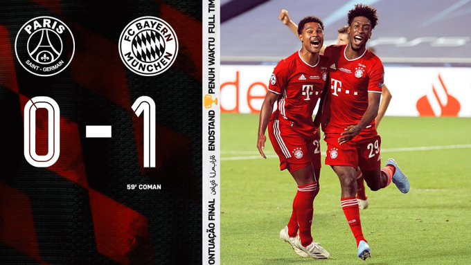 Psg Vs Bayern Munich 0 1 Highlights Download Video Am Onpoint Tv