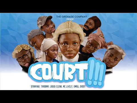 Comedy Video: Taaooma ft Mc Lively, Lasisi & Small Daddy – Court (Divorce)