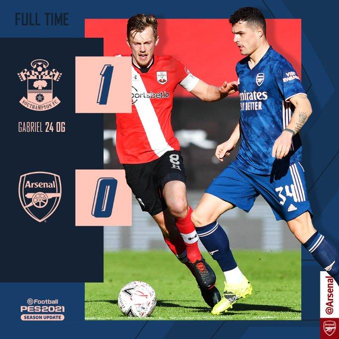 Southampton vs Arsenal 1-0 – Highlights