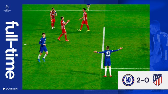 Chelsea vs Atletico Madrid 2-0 – Highlights DOWNLOAD VIDEO
