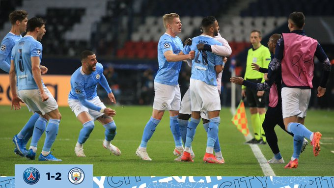 PSG vs Manchester City 1-2 – Highlights