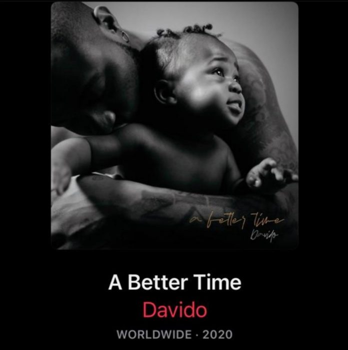 Replica of Davido ' s A better time album flagged on Apple music
