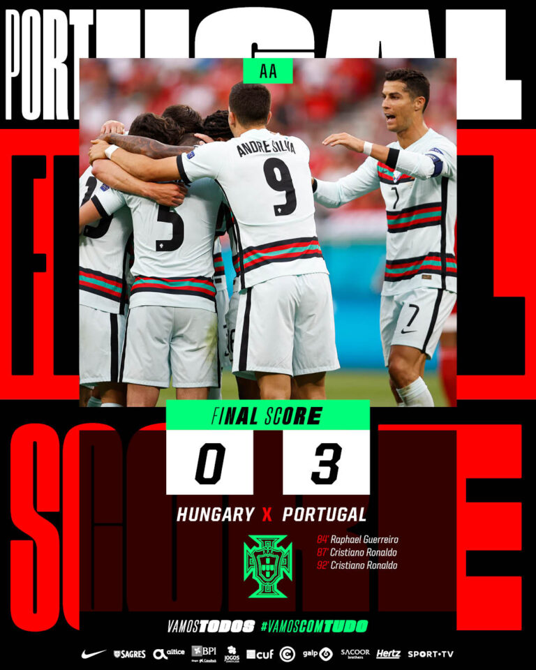 Euro 2021: Hungary vs Portugal 0-3 – Highlights Download Video