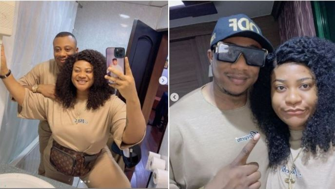 Nkechi blessing and new man