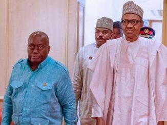 Ghana and Nigerian president