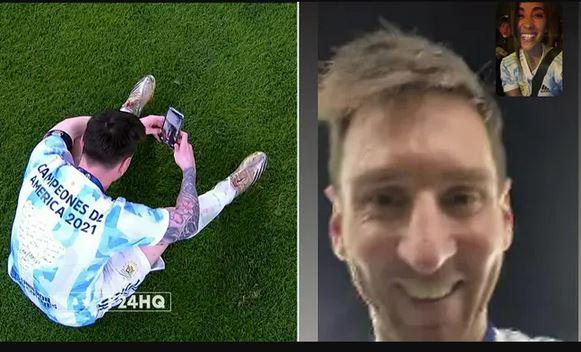 Messi calls