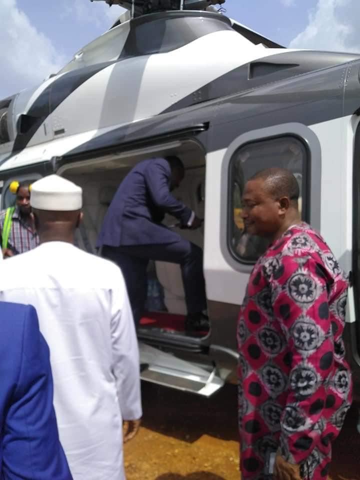 oyedepo helicopter