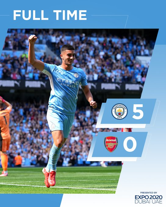 VIDEO: Manchester City vs Arsenal 5-0 – Highlights Download