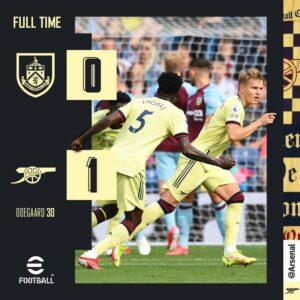 EPL: Burnley vs Arsenal 0-1 –Highlights Download